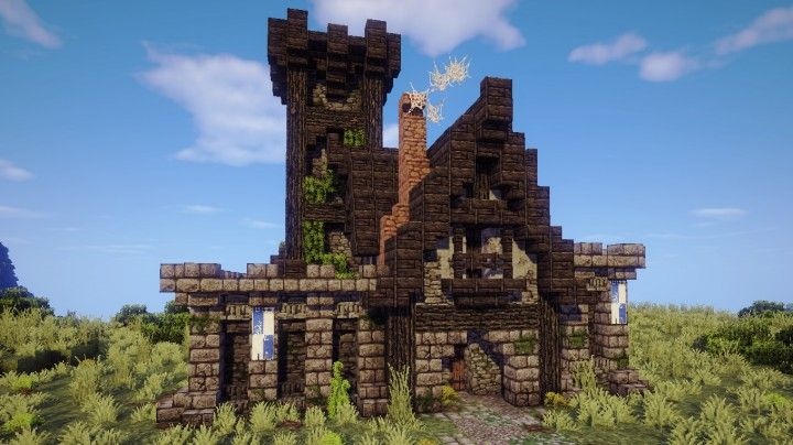 minecraft town hall tutorial medieval blueprints project houses projects buildings map castle pixel designs planetminecraft stuff structures visit
