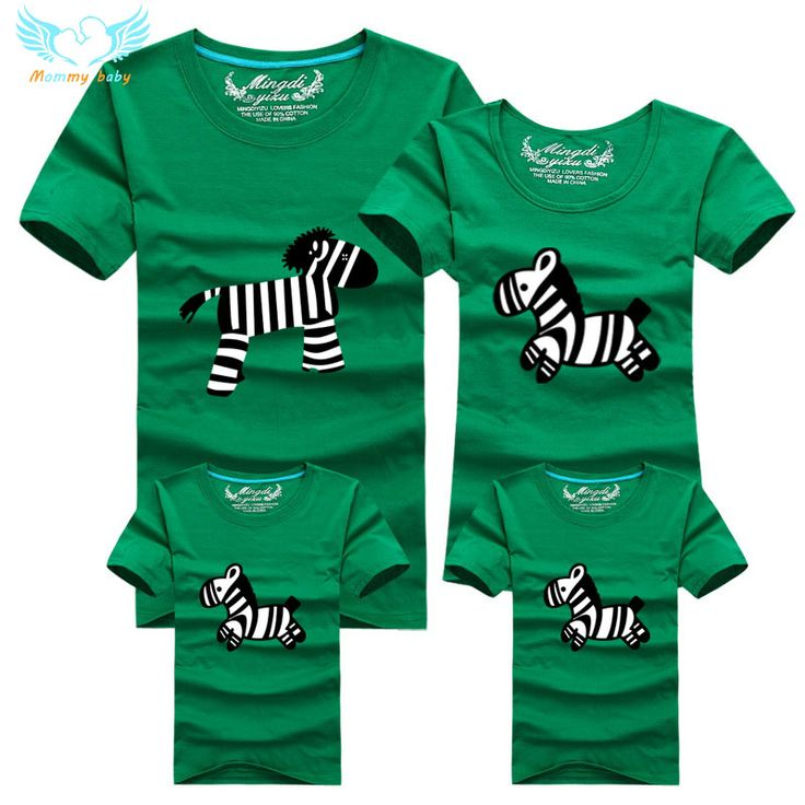 2016 New Family Look T Shirts 8 Colors Summer Family Matching Clothes Dad & Mom & Son & Daughter Cartoon Minions Outfits