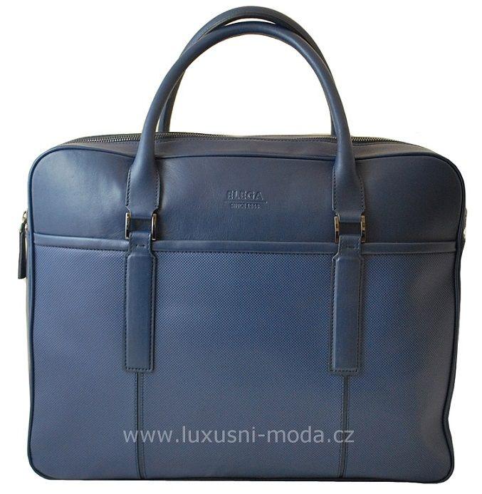 Luxusní pánská taška - ELEGA http://www.luxusni-moda.cz/doplnky-panske/luxusni-aktovky-tasky/velka-manazerska-aktovka-kolekce-elite-modra.html