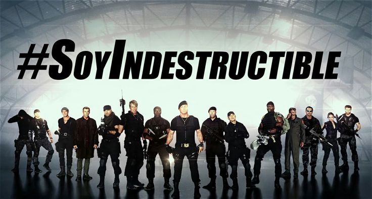 Los Indestructibles 3 - The Expendables 3 - Soy Indestructible