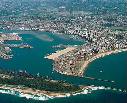 Durban has the largest harbour in Africa