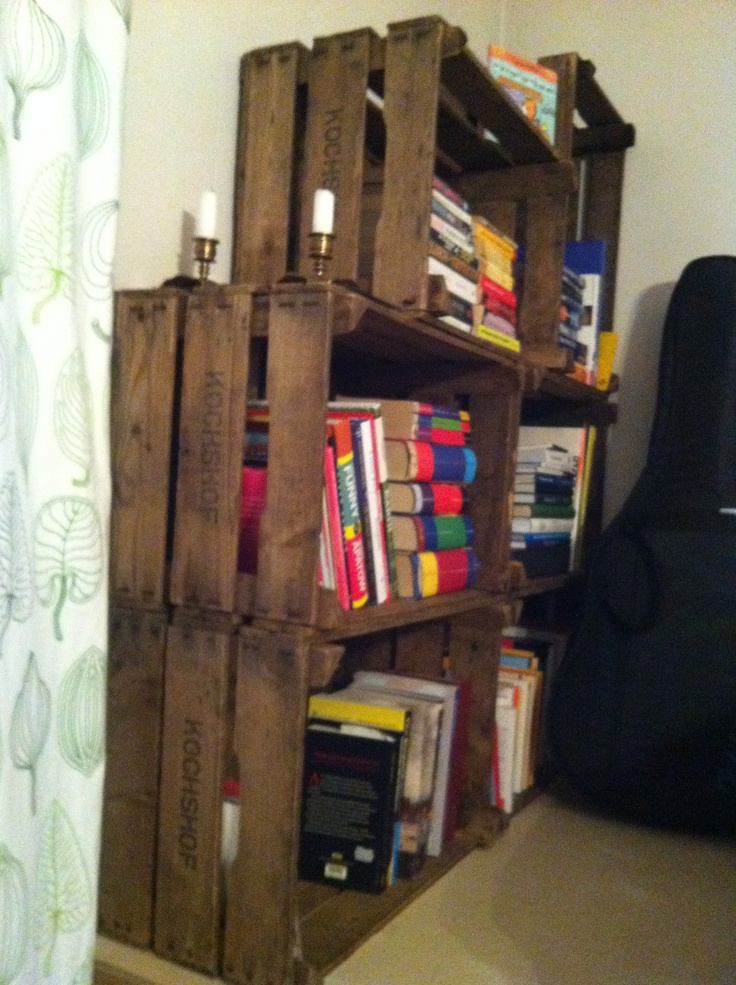 15 best images about beer crates on pinterest shelves