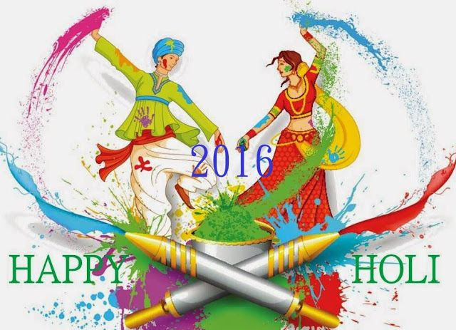 Happy Holi 2016 images