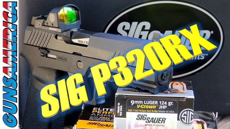 NEW SIG Sauer P320RX Full Review
