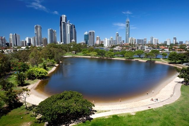 Gold Coast design competition opens - imagine designing a restaurant around this view? Or an art gallery? If only I was an architect ...