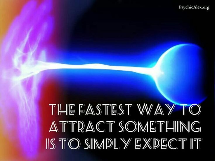 Expect it!!..put your desire in front of the universe, it will make it happen