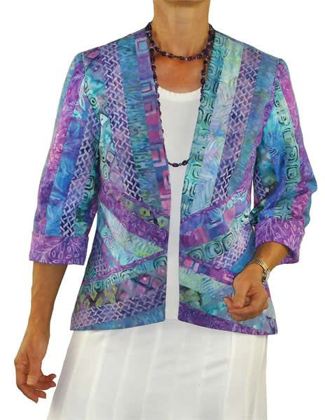 Harmony Jacket Pattern BSS-162 (intermediate) Like the jacket quilt design, link shows back& arm details.