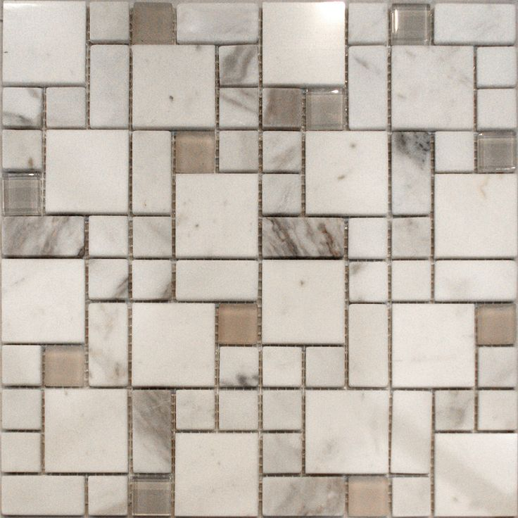 Sample Square Pattern Wooden Gray Marble Stone Glass: 25+ Best Ideas About Glass Mosaic Tile Backsplash On