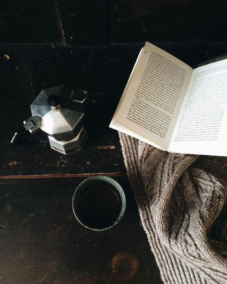 Cozied up. #Coffee #Reading #Coffee #Winter