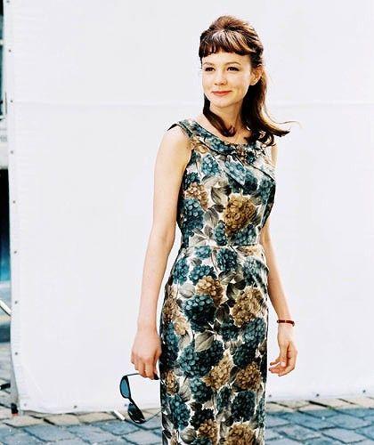 An education, fabulous 60's style floral dress