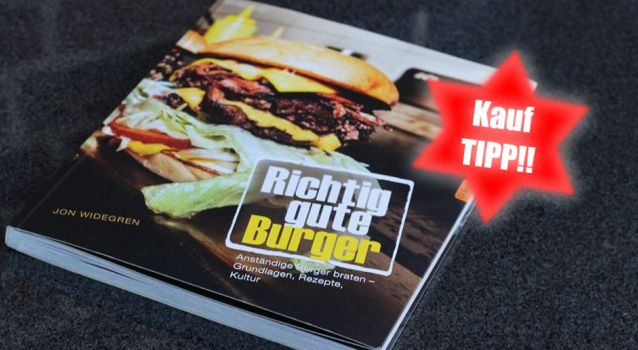 """Buchrezension: """"Richtig gute Burger"""" – Jon Widegren"""