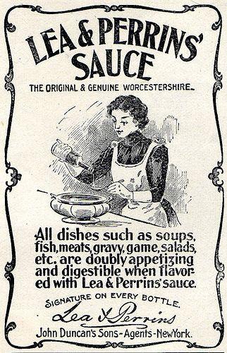 Lea & Perrins Ad - August 1900 by Vintage Dish, via Flickr