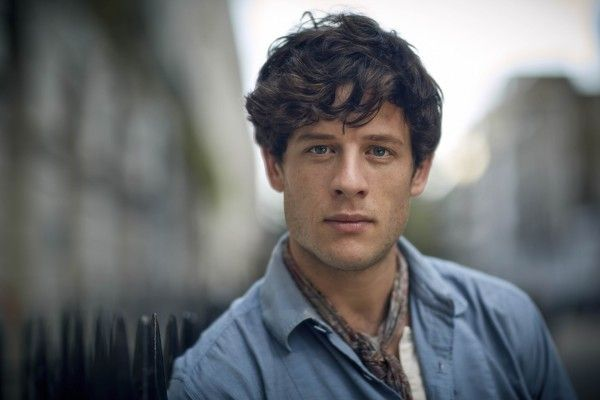 I cant imagine what I'd do or how I'd react if I have to meet this guy face to face. His look would've caught me off guard.  Such gorgeous face. It took me awhile before I could tear my eyes away from  James Norton.