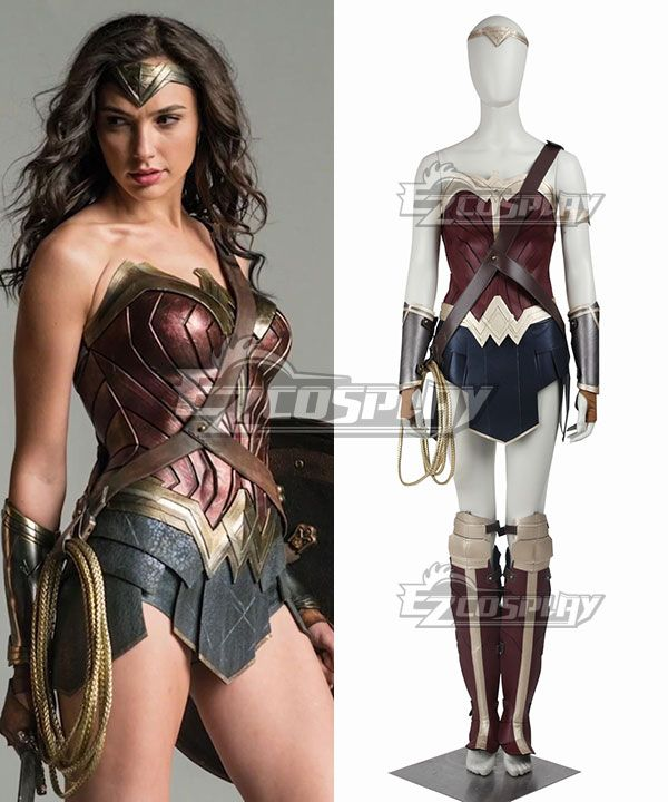 DC Batman V Superman Dawn Of Justice Wonder Woman Diana Prince Cosplay Costume