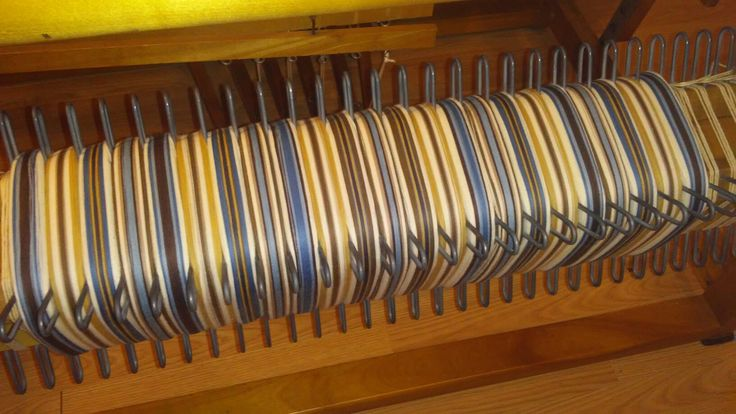 Montage de linges à vaisselle en coton.