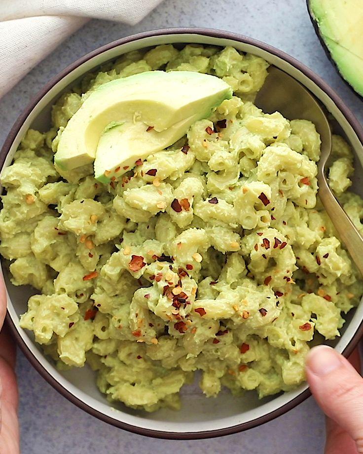 Vegan Avocado Mac and Cheese