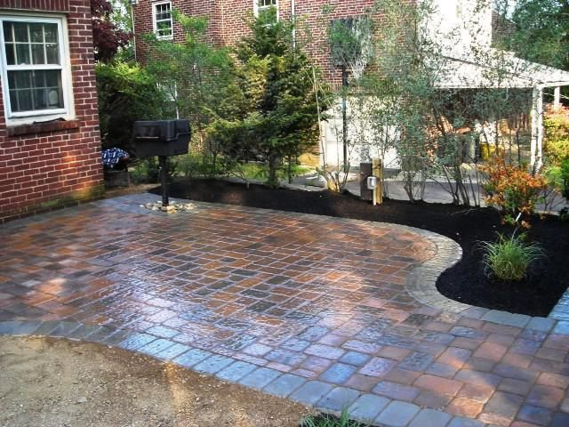 Brick Patio Ideas Design Style Inspiration Great Home Decor Small Brick Patio Backyard Patio Designs Paved Backyard Ideas