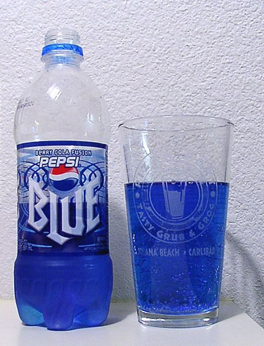 Foods From Your Childhood That Sadly No Longer Exist - Pepsi Blue