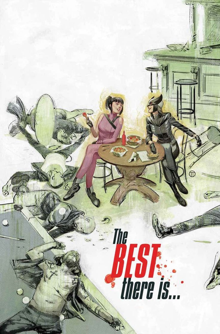 """"""" HAWKEYE #12  KELLY THOMPSON (W) • MICHAEL WALSH (A)  Cover by JULIAN TOTINO TEDESCO  Hawkeye's latest showdown with Madame Masque has left her fed up with clones — and all of the shenanigans surrounding them. So when Laura Kinney, the All-New..."""