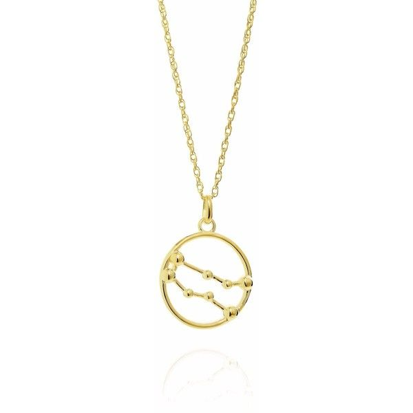 Yasmin Everley Jewellery - Gemini Astrology Necklace in 9ct Gold (7,060 EGP) ❤ liked on Polyvore featuring jewelry, necklaces, chain pendant necklace, star pendant necklace, star necklace, yellow gold pendant necklace and gold rope chain necklace