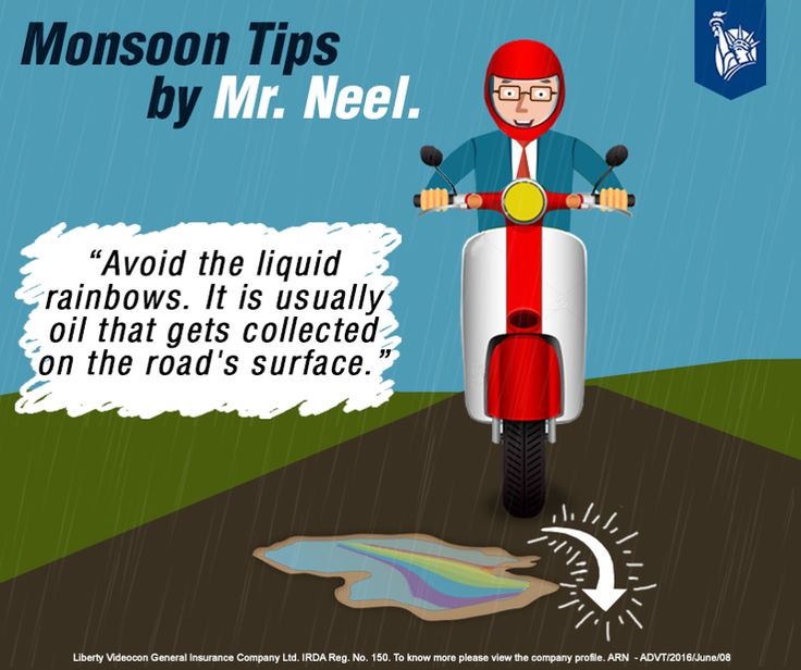 Not everything is bright on the other side of the rainbow. Oil causes your vehicle to skid, so Mr Neel avoids them for a safer drive. Do you?
