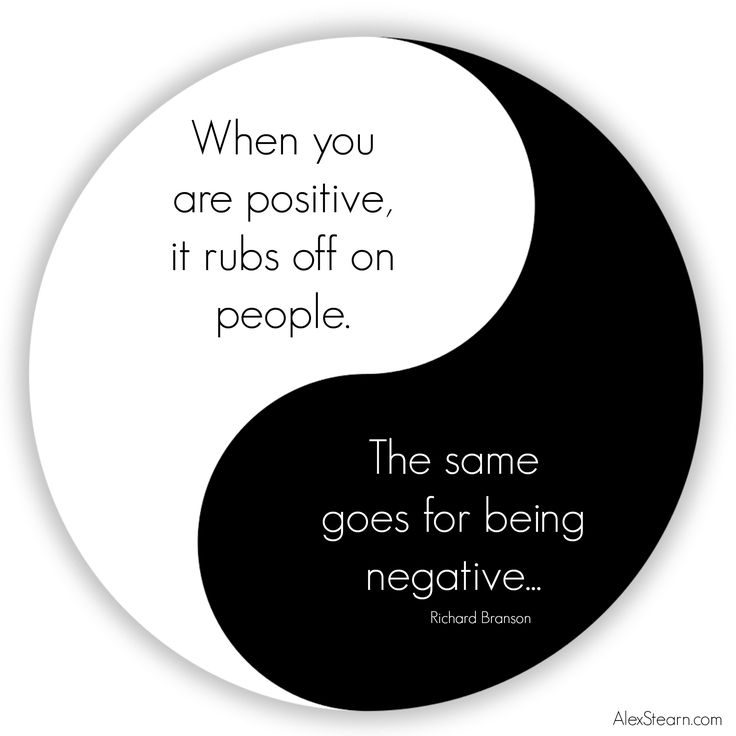 When you are positive it rubs off on people.  The same goes for being negative Richard Branson #Quote  #richardbransonquotes