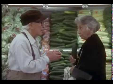 Burgess Meredith outtake reel from Grumpy Old Men/Grumpier Old Men.  Oh My Goodness, I can't stop laughing!!!