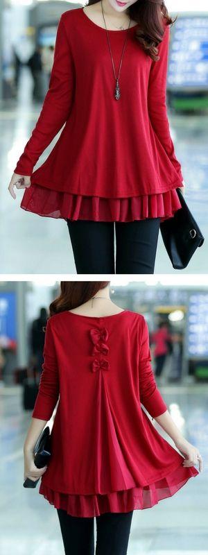 Cute blouse for women.