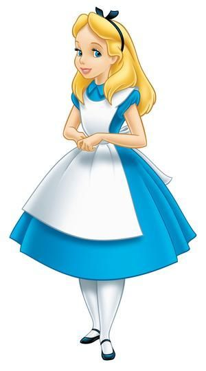 Robe style alice in wonderland