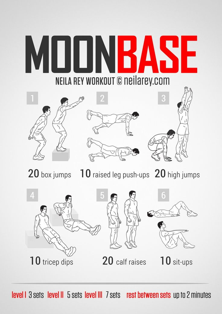 Moonbase Workout | Neila Rey | Pinterest