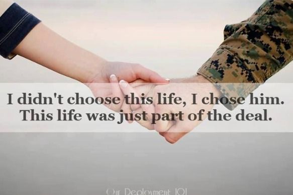 I know this is meant for military spouses but it can be applied to any marriage.