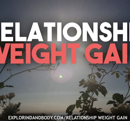 relationship weight gain
