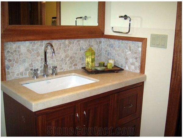 mosaic backsplashbacksplash ideas - Bathroom Vanity Backsplash Ideas