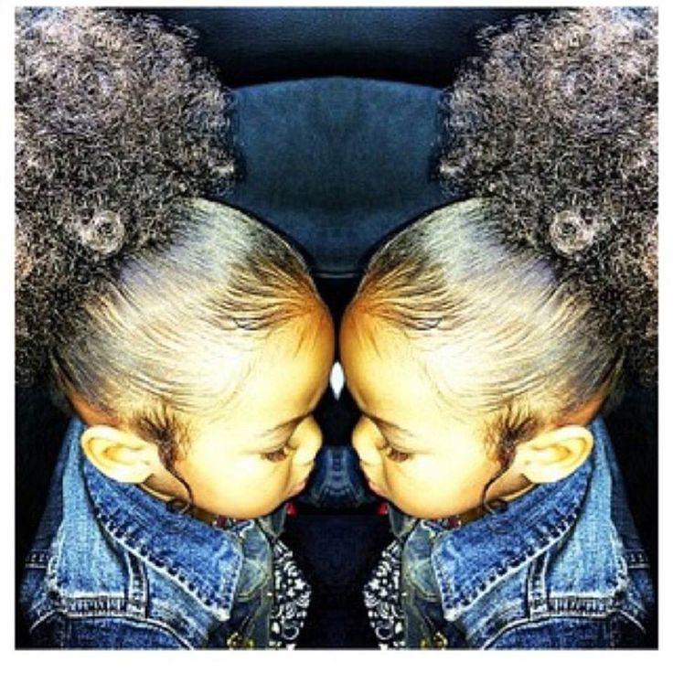 Cute Hairstyle For Mixed Children Slick Down Edges With -6574