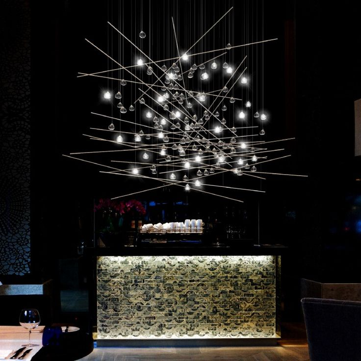 55 best lighting images on pinterest lamps light for Yellow goat chandelier