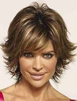 Lisa Rinna Hairstyle - Pics of Lisa Rinna Hair style.... I love her hair if ever I go short this is the look I what