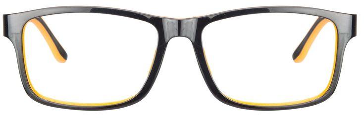 Buy Idee 1091 Black Orange C3 Eyeglasses #BlackOrangeEyeglasses #funkyEyeglasses #Opticvilla
