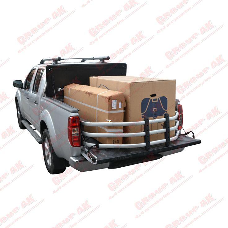 Bed X-Tender in Silver Nissan Navara D40