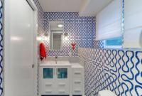 Tidy bathroom storage blue-white-furniture-practical