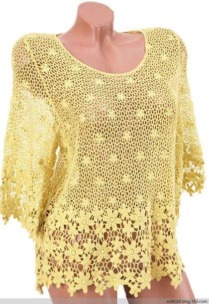 *Цветочные пуловеры