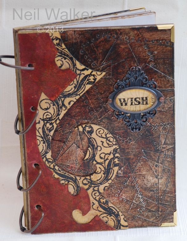 Creative Art Book Cover : Best altered books handmade covers images on