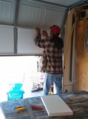 17 Best Ideas About Garage Door Insulation On Pinterest