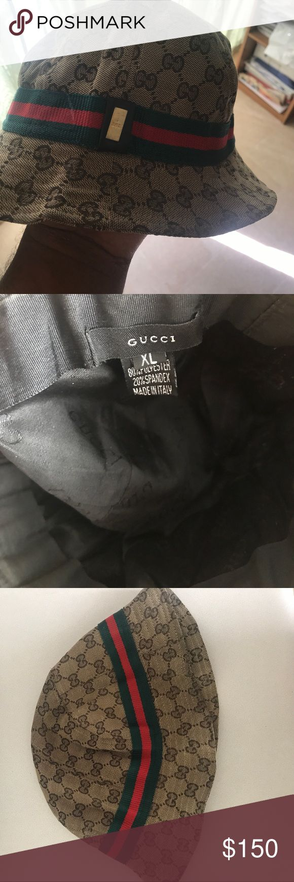 """Gucci Bucket hat """"Used"""" but not abused Accessories Hats"""