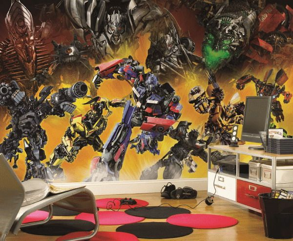 Want to redecorate your Transformers collection room  Measuring an  impressive by their Revenge of the Fallen Wall Mural. 31 best Transformers Room Project For Reed images on Pinterest