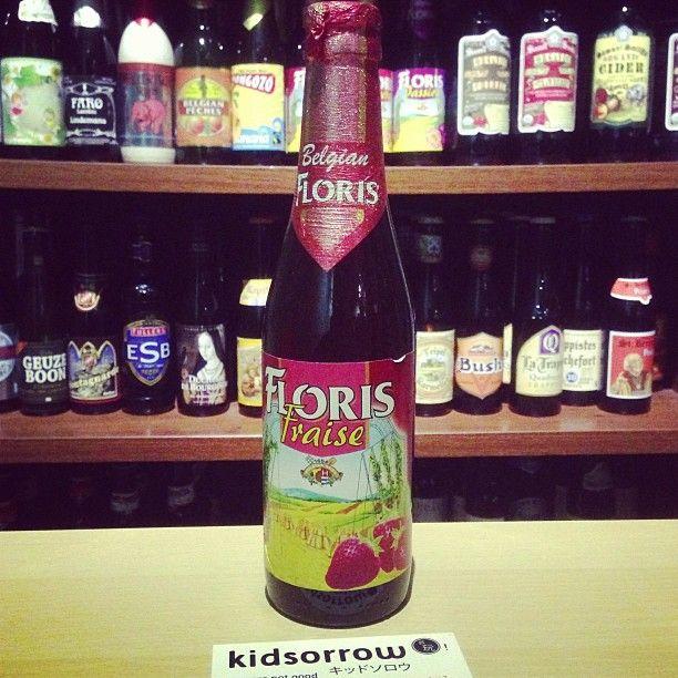 草莓啤酒│Floris Fraise-strawberry 濃濃的草莓香氣,適合喜歡水果啤酒的朋友 #beer #craftbeer
