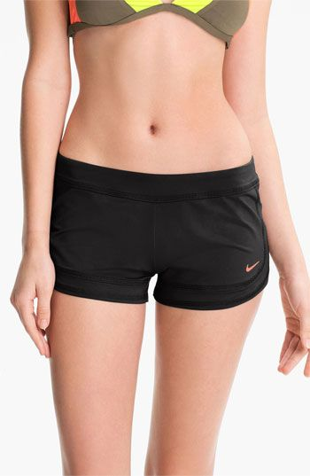 Nike Swim Shorts available at Nordstrom- In serious need of a new swimsuit and i'm looking for shorts!!!!