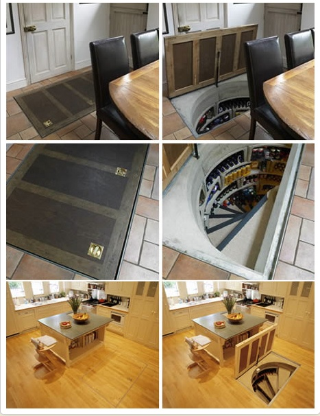 Wine cellar trap door except without the wine and just - Wine cellar trap door ...