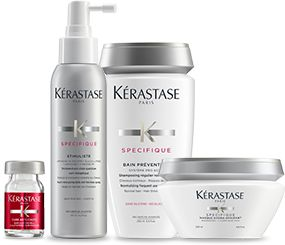 Explore SPÉCIFIQUE ANTI-HAIR LOSS hair care products by Kérastase and discover the best routine for Hair loss.