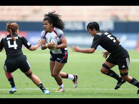 #Rio2016 Women's Rugby Sevens Motivation: Big Hits and Highlights HD - YouTube