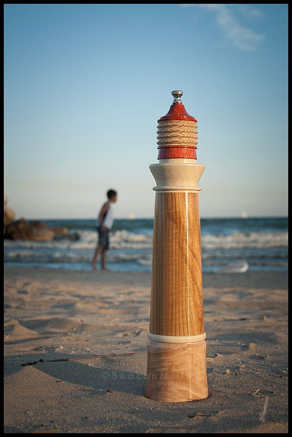 Lighthouse Pepper Mill In Olive Ash Amp Holly Details With